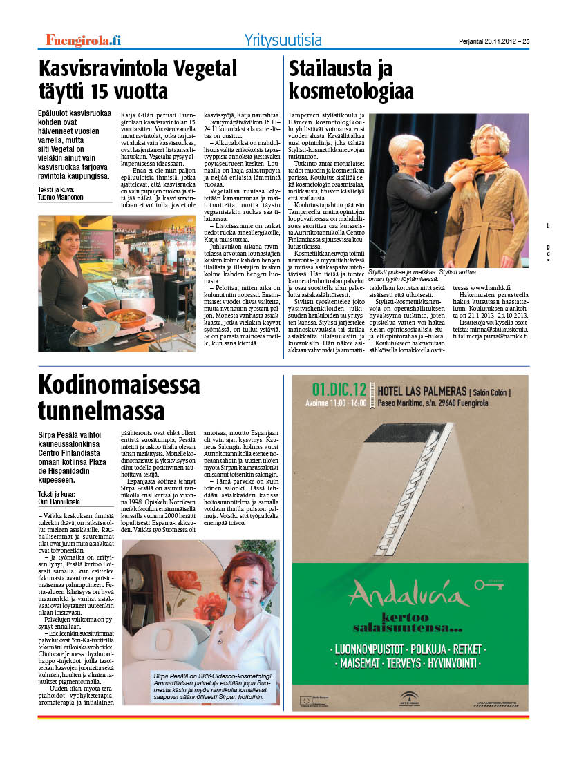 fuengirola lehti päätoimittaja